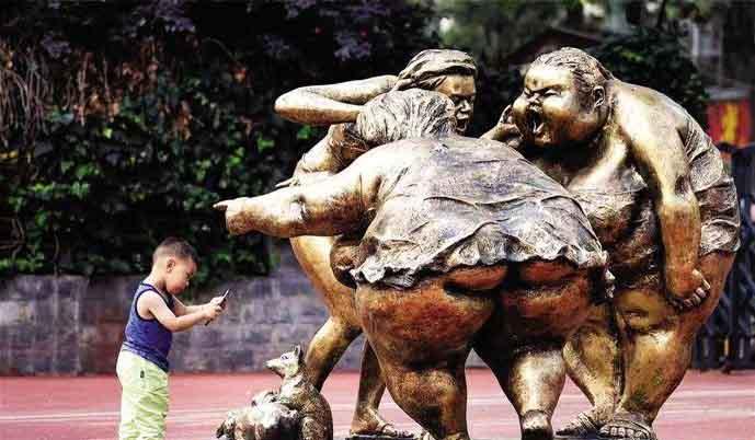 中国美协理事、广州亚博体育官网app下载院院长许鸿飞为你解说