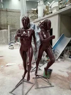 时尚运动潮流玻璃钢人物亚博体育官网app下载